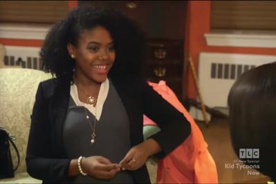 Gabrielle stars in TLC's Kid Tycoon