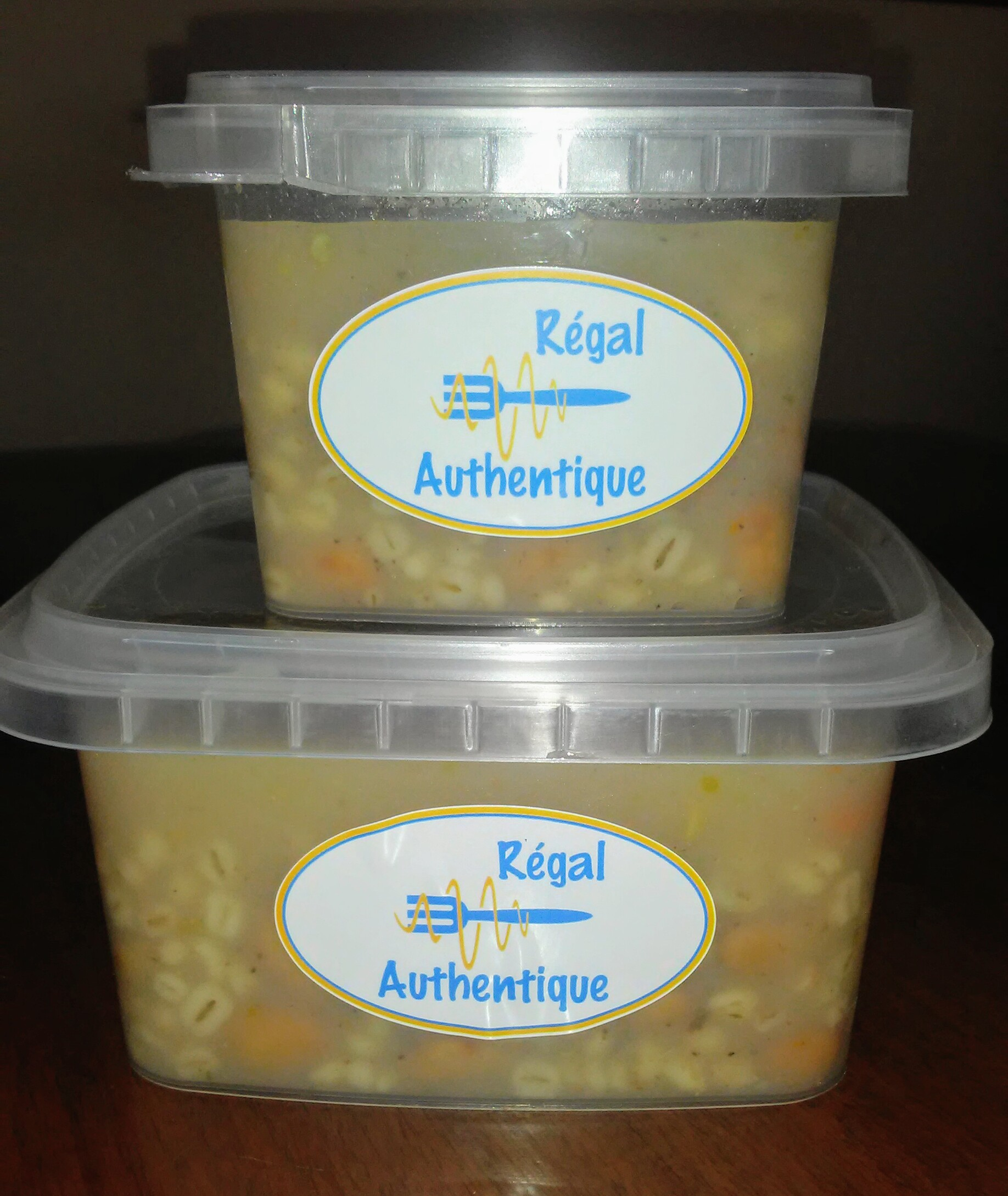Soupe gourganes - Format petit/grand