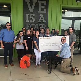 $10,000 Donated to Area Charities