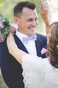 Sarah och Henrik Sundsvall Bröllopsfotog