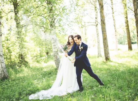 Tidsschema bröllopsdagen