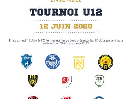 TOURNOI U12 RÉGIONAL
