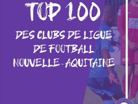 Top 100 des clubs de la ligue.