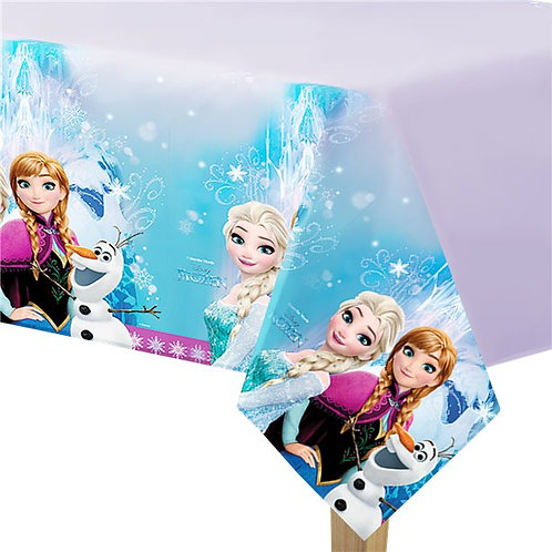 Frozen Plastic Tablecover
