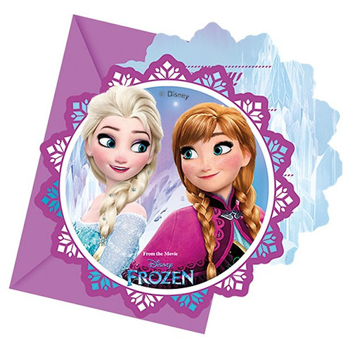 Frozen Party Invitation Cards
