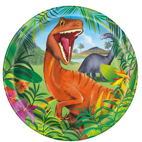 Dinosaur Adventure Party Paper Plates