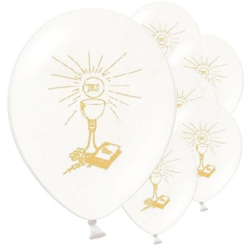 Holy Communion Latex Balloons