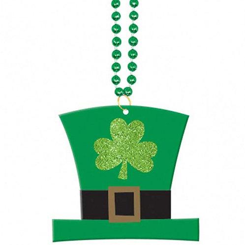Leprechaun Hat Pendant Necklace
