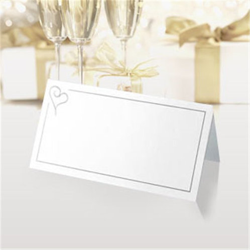 Contemporary Heart Table Place Cards