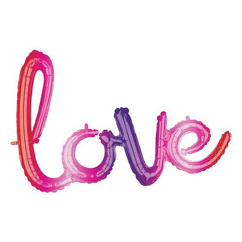 Love Ormbe Foil Balloon