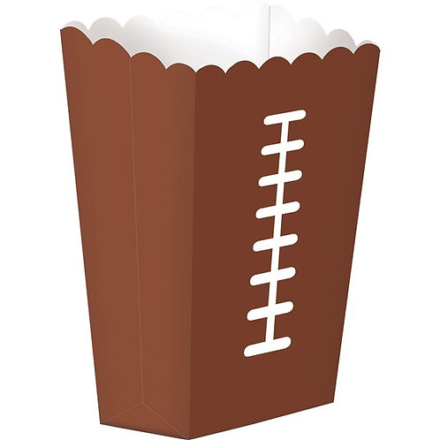 American Football Party Popcorn Boxes