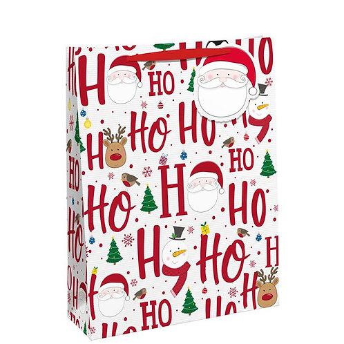 Ho Ho Ho Medium Gift Bag