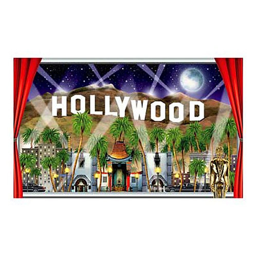 Hollywood Instant View Wall Scene Setter