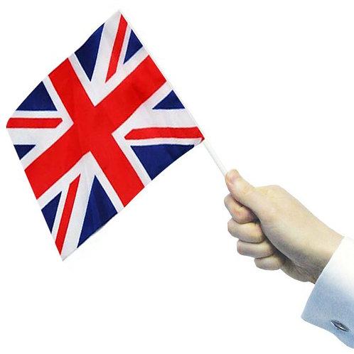 Union Jack Waving Flags