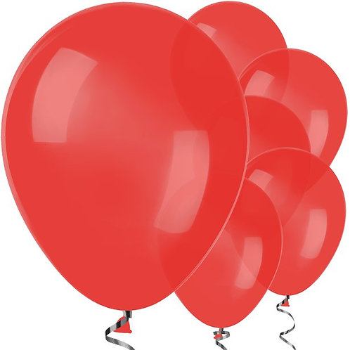 """Red 12"""" Latex Balloons"""