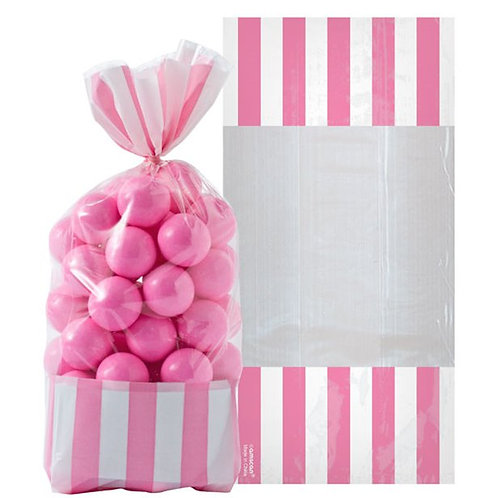 Pink Candy Cello Sweet Bags