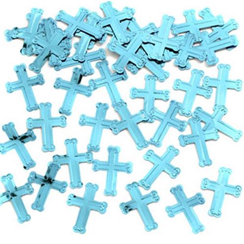 Blue Mix Paper Confetti