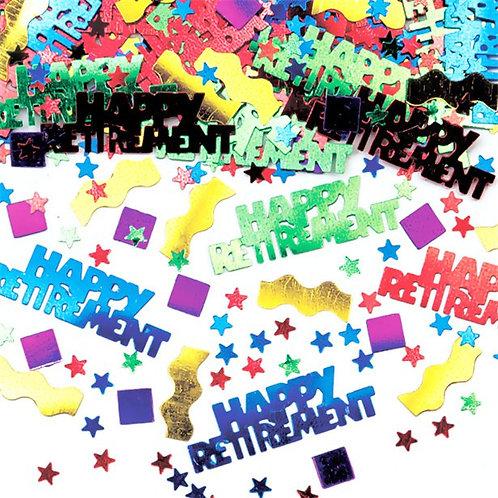 Happy Retirement Table/Invite Confetti