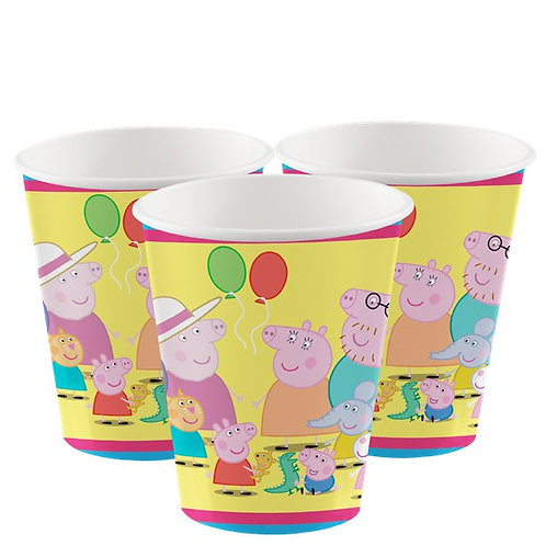 Children's Peppa Pig Party Paper Cups