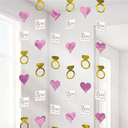 Engagement Or Wedding String Decorations