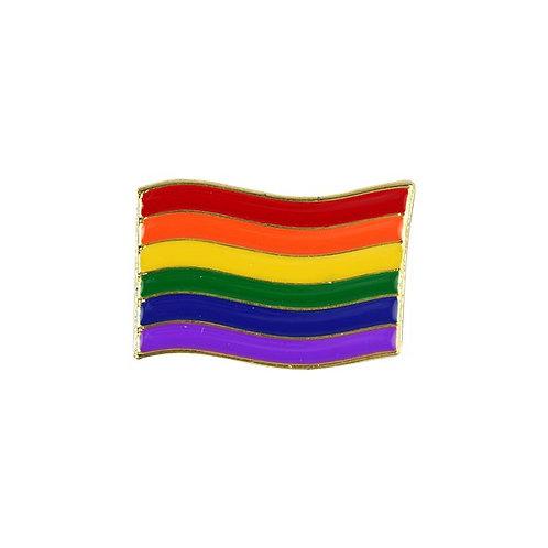 Pride Flag Pin Badge