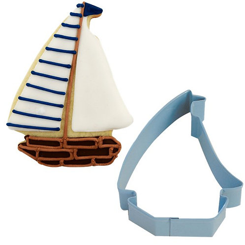 Sail Boat Cookie Cutter Shape