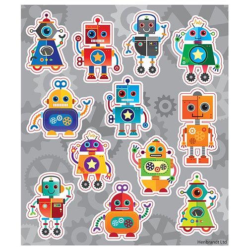 Robots Sticker Sheets
