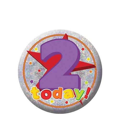 Happy Birthday Age Badges