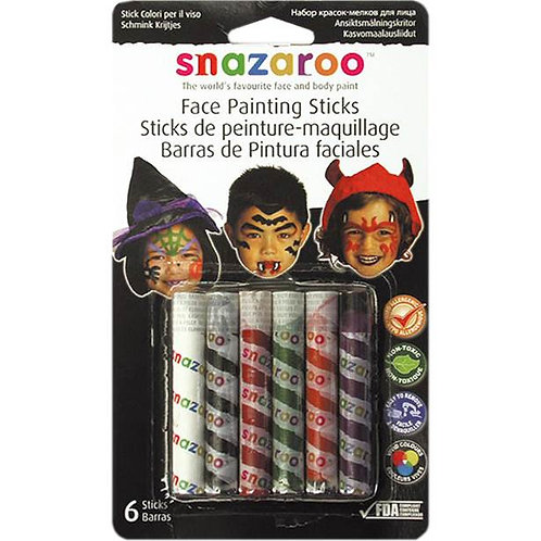 Halloween Face Painting Sticks
