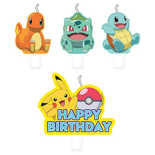 Pokemon Party Candles