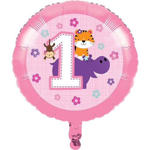 One Is Fun Foil Balloon