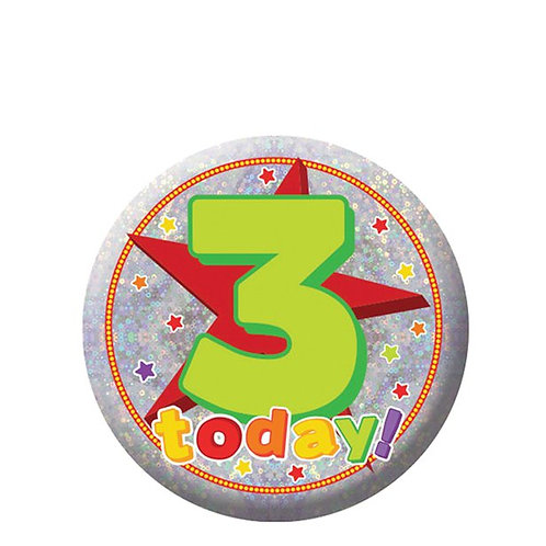 3 Today Badge