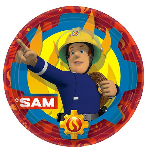 Fireman Sam Party Paper Plates