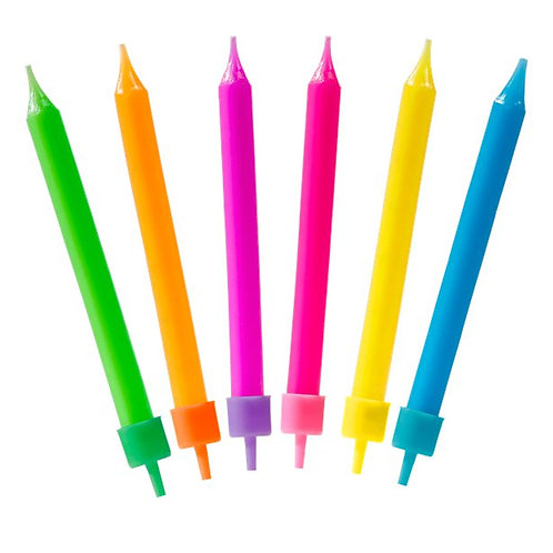 Colourful Assorted Candles