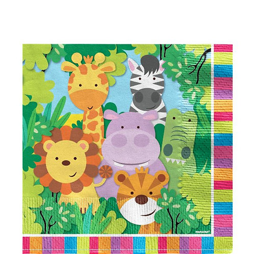 Animal Friends Paper Party Napkins