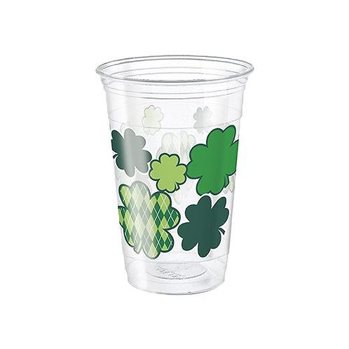 Shamrock Plastic Cups