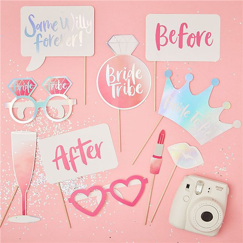 Bride Tribe Photo Booth Props