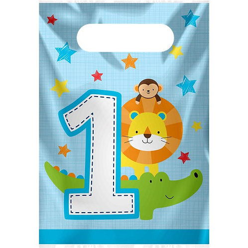 One is Fun Boy Party Bags