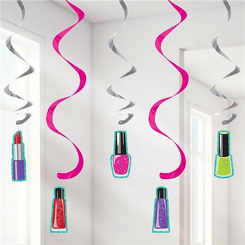 Sparkle SpaHanging Swirls
