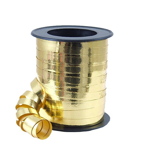 Balloon Curling Ribbon Gold