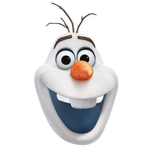 Olaf Face Mask