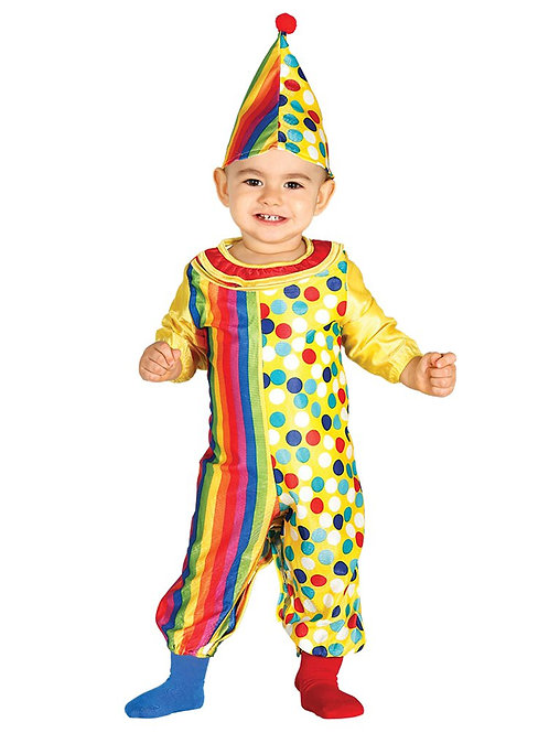 Clown Jumpsuit Costume 6-12 Months