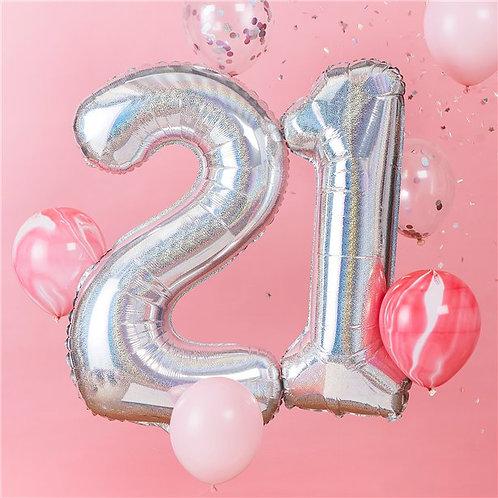 21st Balloon Kit