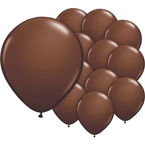 "Chocolate Brown 5"" Balloons"