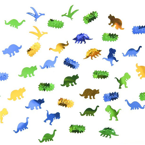 Dinosaur Party Table Confetti