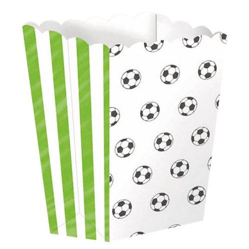 Football Kicker Party Popcorn Boxes Pk Of 4