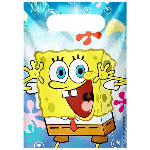 Spongebob Plastic Party Bags