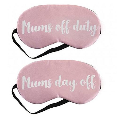 Mums Sleeping Eye Mask Set