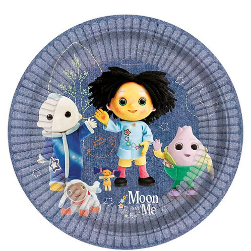 Moon and Me Paper Plates