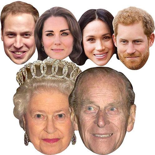 Royal Couples Face Masks